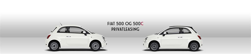 Fiat 500 Privatleasing